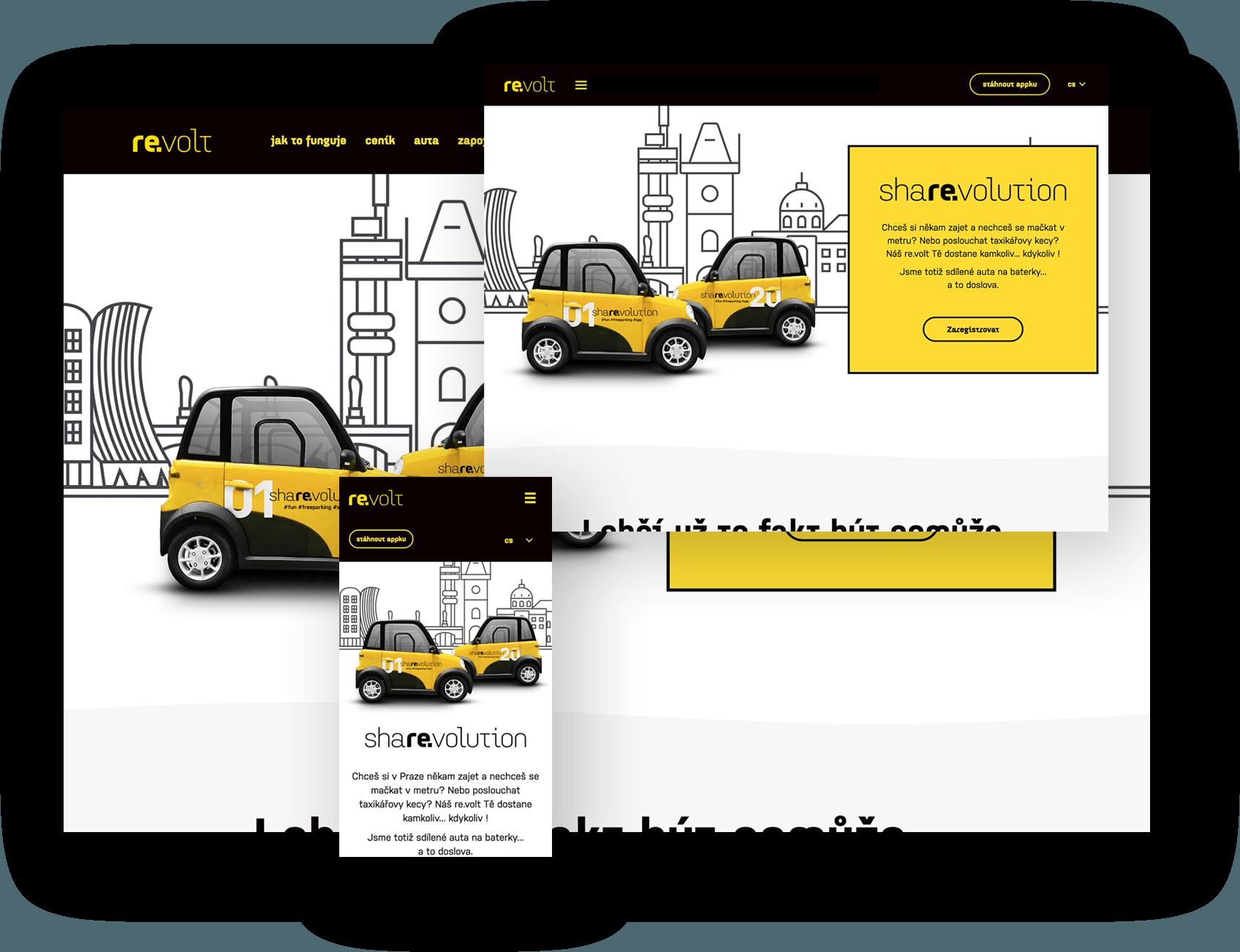 Ukázka responsive design