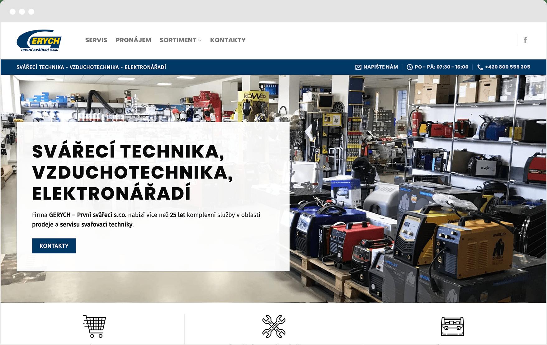 Reference www.gerych.cz