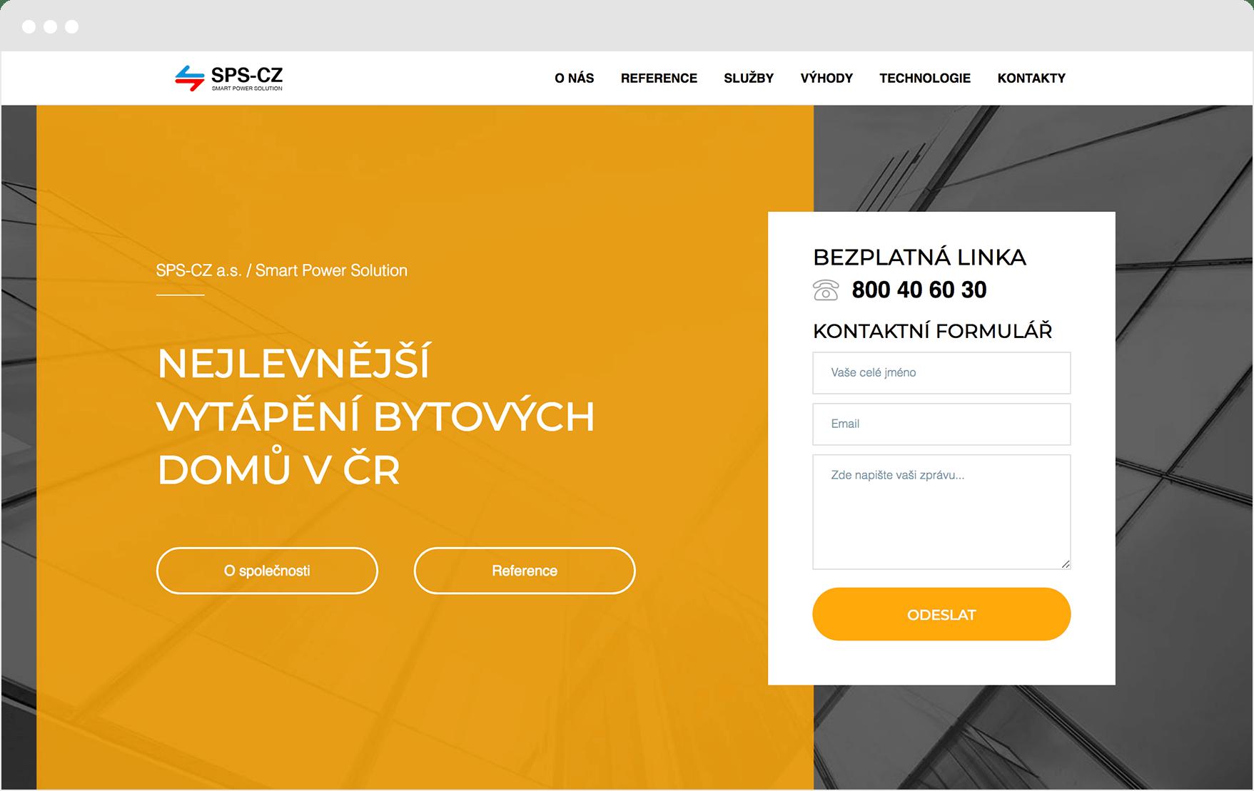 Reference www.sps-cz.eu
